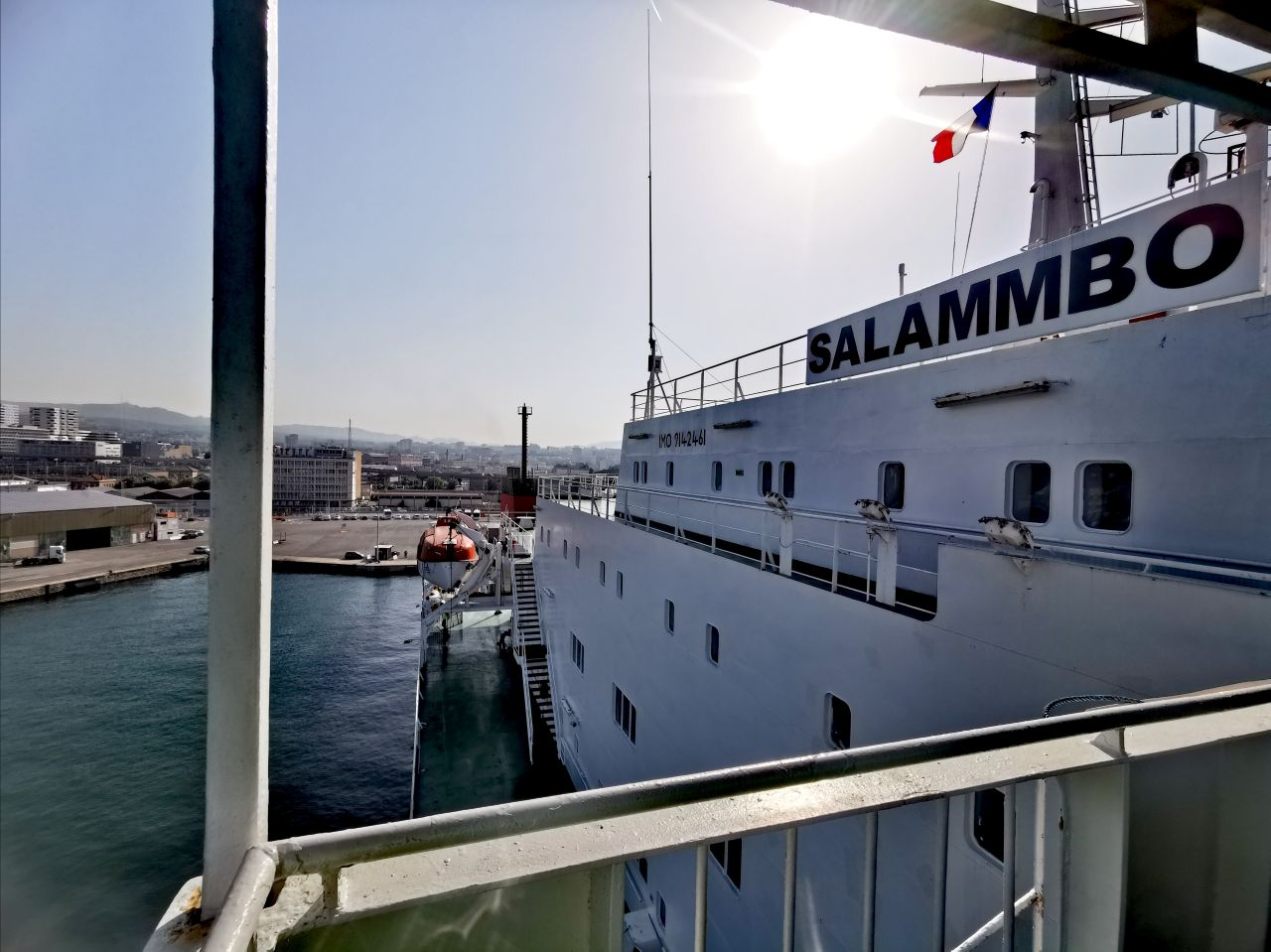 Navire Le Salammbô
