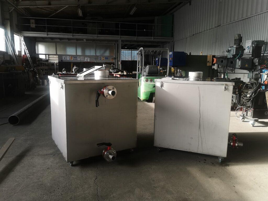Boiler made tanks